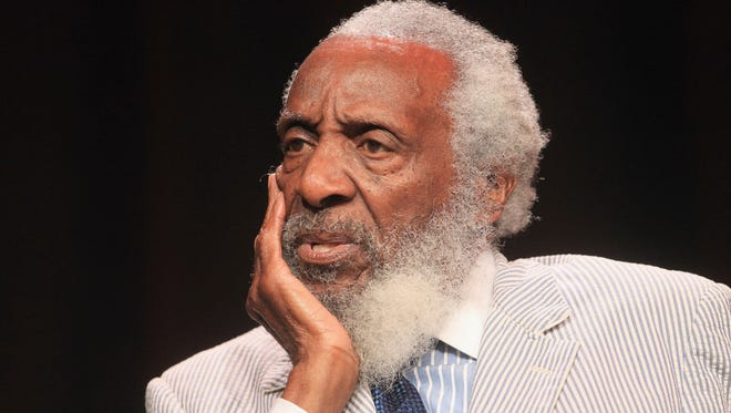 Comedian and social activist Dick Gregory died Saturday night at age 84.