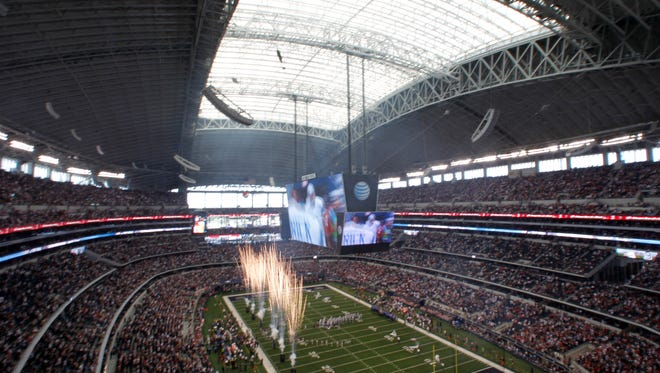 Proceeds from Thursday's game at AT&T Stadium between the Houston Texans and Dallas Cowboys will go to the Hurricane Harvey relief fund.