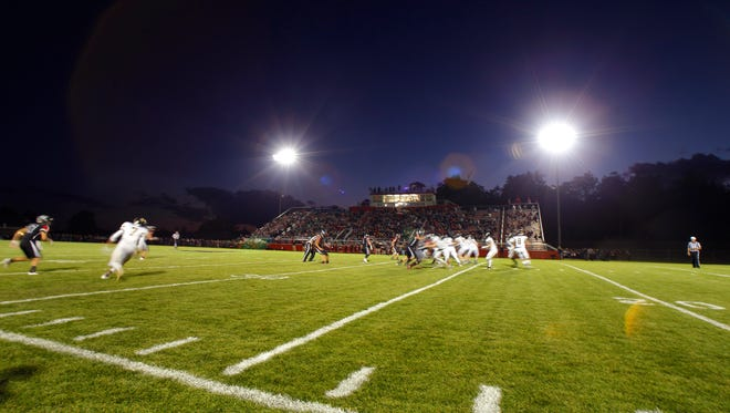 See this week's high school football predictions from Brian Calloway and Brock Palmbos.