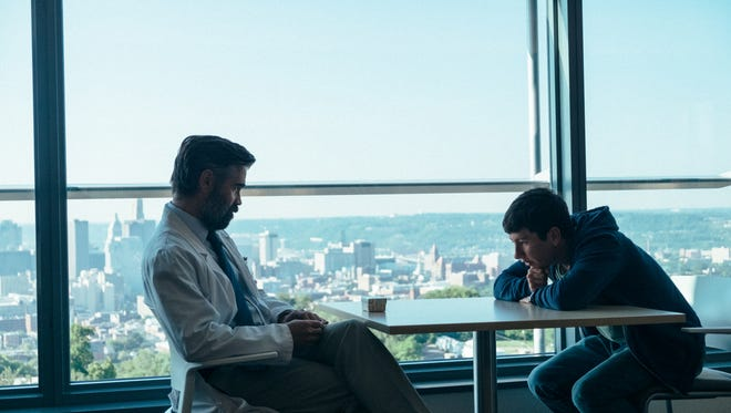 """Colin Farrell and Barry Keoghan star in """"The Killing of a Sacred Deer."""""""