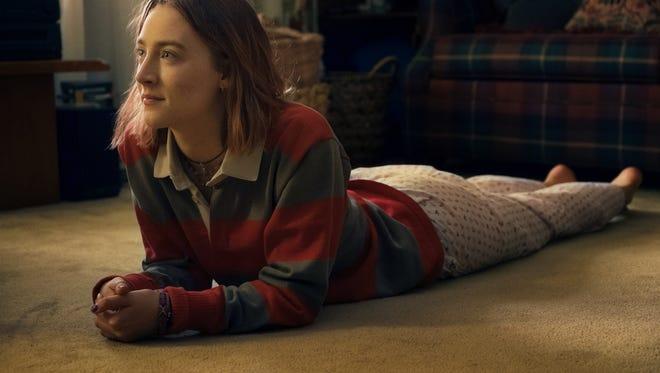 "Saoirse Ronan is terrific in ""Lady Bird,"" Greta Gerwig's directorial debut."