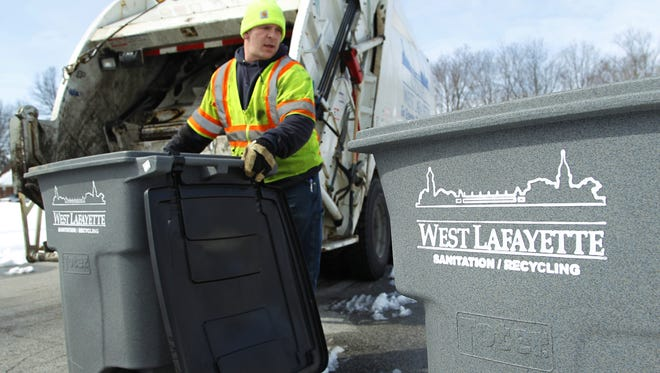 The West Lafayette City Council is mulling an ordinance that would allow the city to collect some county residents' trash.