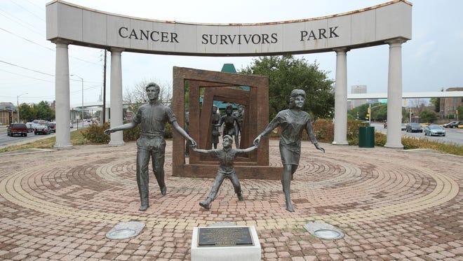 Richard and Annette Bloch Cancer Survivors Park