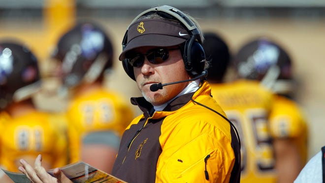 Dave Christensen has coached in college for more than 35 years, including five seasons as head coach at Wyoming.