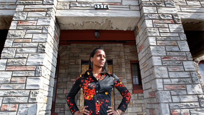 Fatima Laster plans to convert the former Johnson-Goolsby Funeral Home, on Milwaukee's north side, into studios for artists, including herself, and shared gallery space.