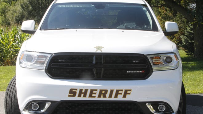 A teenager fell asleep Thursday morning and drove his car into the Wabash River. Rescuers threw him a rope, and he was not injured, according to the sheriff's office.