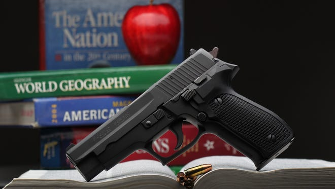 "The campaign to persuade Boone County school districts to allow educators to arm themselves moved to a non-school setting on Tuesday night. Boone County Fiscal Court passed a resolution encouraging school boards to ""consider a program or policy that would allow school employees who volunteer and are properly screened and trained to carry firearms for the protection of students, staff and our schools."""