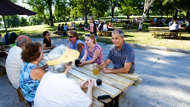 Get ready for sunshine and beers outside. The Humboldt Park Beer Garden opens May 3.
