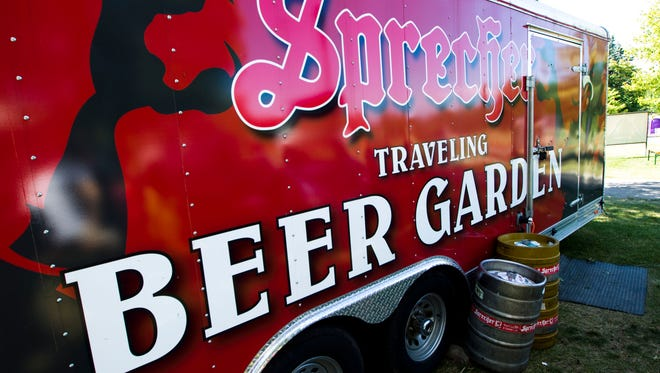 The first Traveling Beer Garden sets down at Juneau Park on May 8.