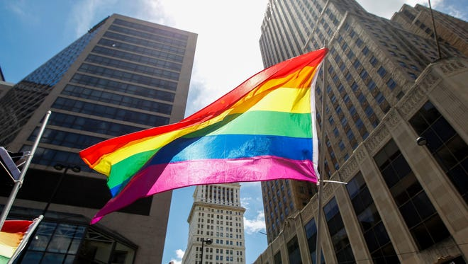 2017: Thousands attend the Cincinnati Pride Parade Saturday, June 24, 2017.