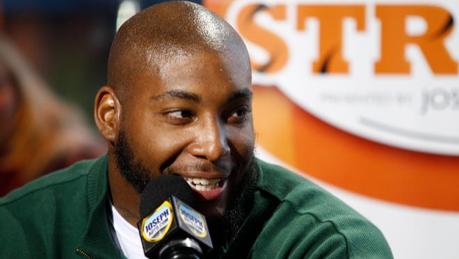 The Bengals' Devon Still during The Enquirer's  Beyond the Stripes show Oct. 7.