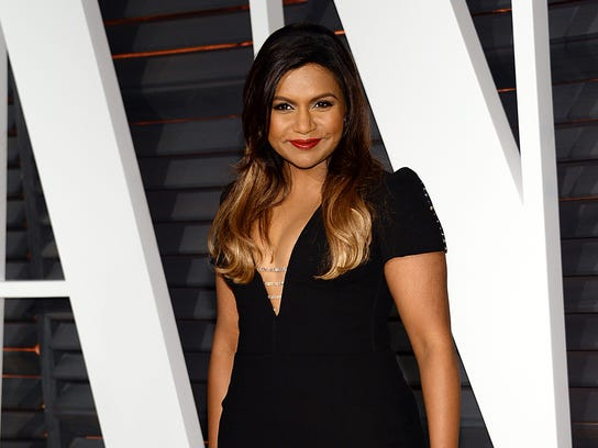 In this Feb. 22, 2015 file photo, Mindy Kaling arrives