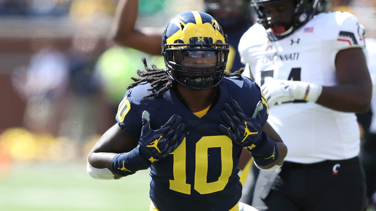 latimes.com Michigan football climbs to No. 7 in Amway Coaches Poll 87d39b104