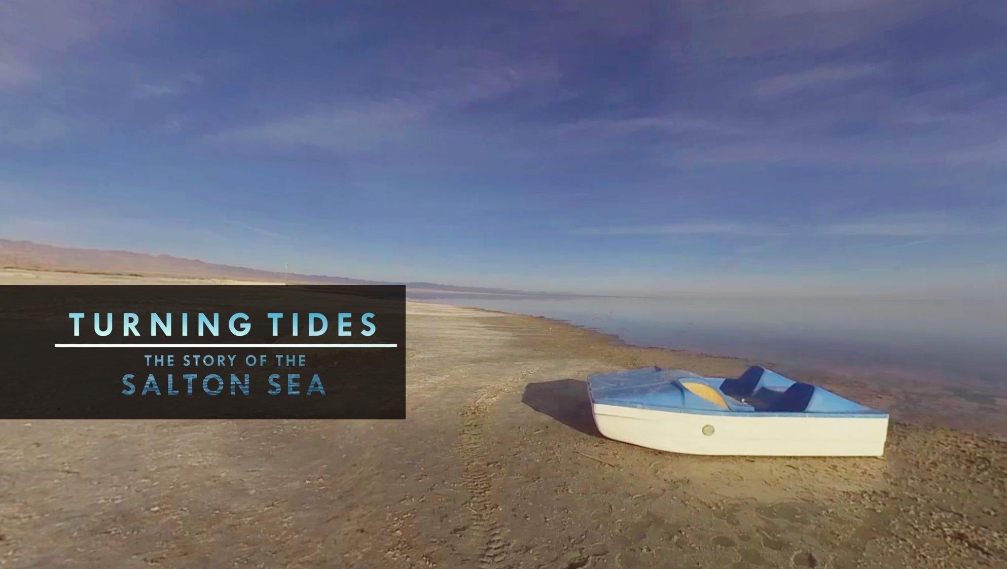 Salton Sea in 360: USC and The Desert Sun win award