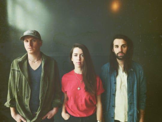 The folk-pop trio Wilsen headlines a show tonight at