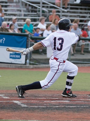 Trace Hatfield had four RBIs on the night as the Chillicothe Paints defeated the West Virginia Miners 15-5 on Thursday.