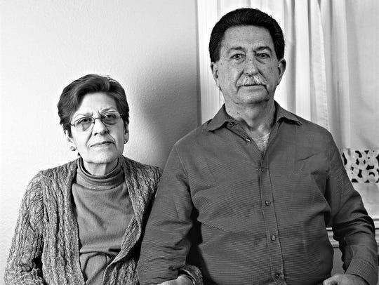 """""""Kemel Jamis and his sister Jadiyed."""""""