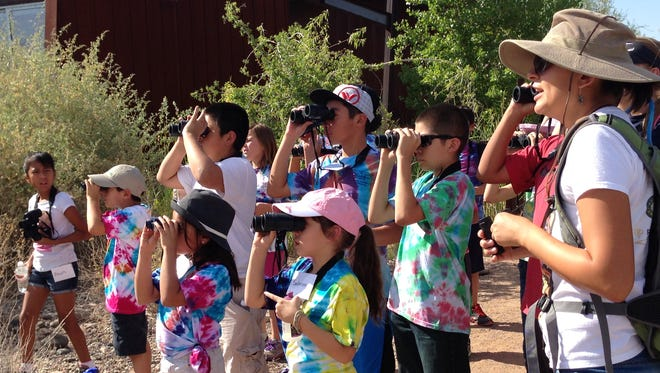 Camp Audubon Adventures is a weeklong nature camp that includes one night at Camp Colley near Payson.