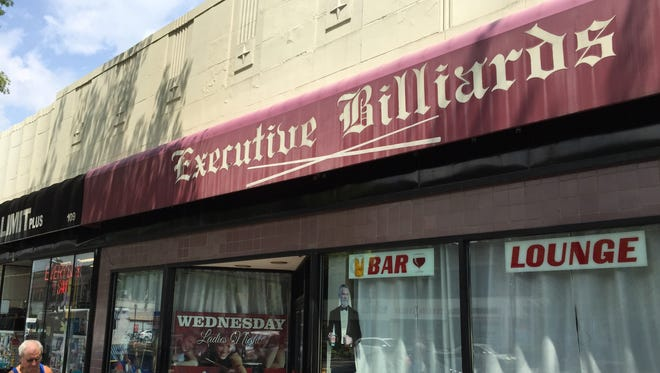 Executive Billiards in White Plains. The pool hall and bar had a cabaret license denied by the Common Council last week.