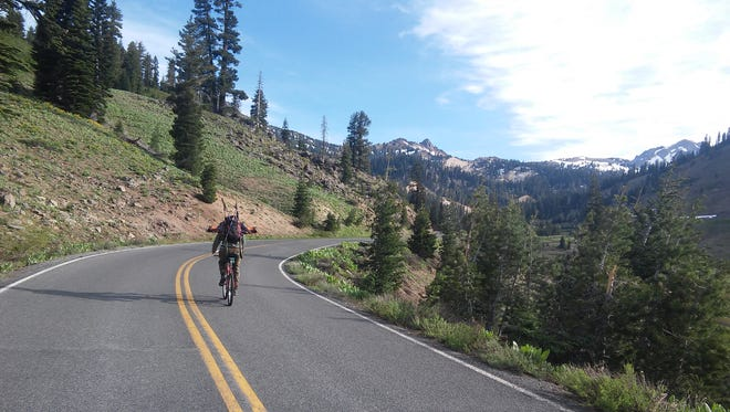 Neglected bike maintenance made this ride in Lassen Volcanic National Park more difficult than it needed to be for outdoors writer Benjamin Spillman.