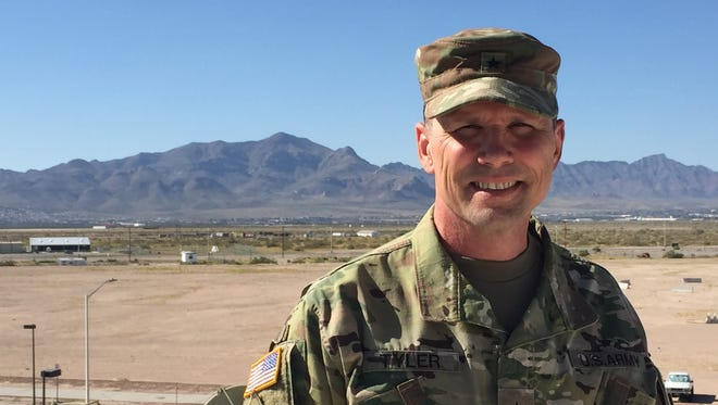 Brig. Gen. Joel K. Tyler is the newest deputy commanding general for Fort Bliss and the 1st Armored Division. He says the Franklin Mountains symbolize Fort Bliss and El Paso to him.