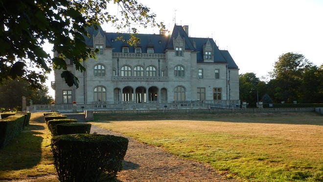 "Ochre Court, now the central administration building for Salve Regina University, is among the many  ""summer cottages"" you can see from Newport's Cliff Walk. The 3.5-mile-long Cliff Walk is free to walk; the cottages that are open for tours require a paid admission."