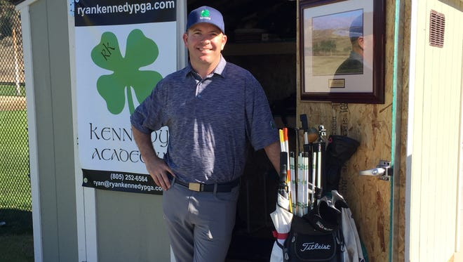 Former Saticoy Country Club head professional Ryan Kennedy is now teaching at Rustic Canyon, where he plans to build a state-of-the-art golf academy.