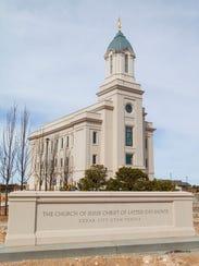 The Cedar City Utah Temple of The Church of Jesus Christ