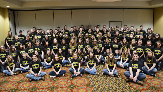 Over 100 youth from Wisconsin and Minnesota attended Cooperative Network's 2017 Co-ops Yes! Youth Leadership Conference in Eau Claire.