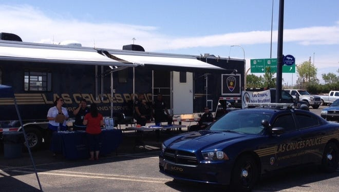 The Las Cruces Police Department 's Mobile Operations Command center.