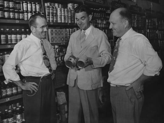M. H. Brown in Kroger circa 1947 1