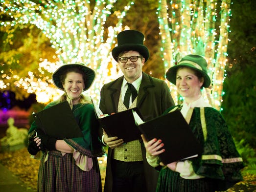 Cheekwood Holiday LIGHTS Preview Event