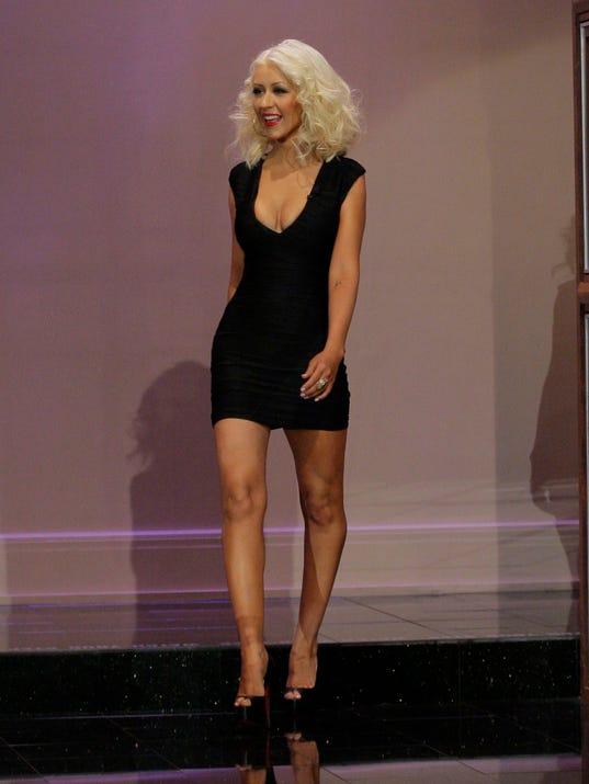 Aguilera Tonight Show