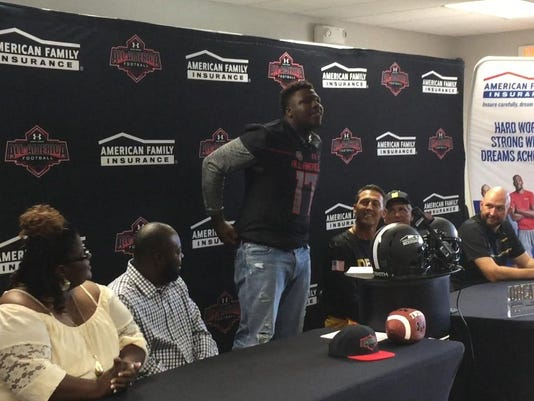 Mathis Under Armour All American