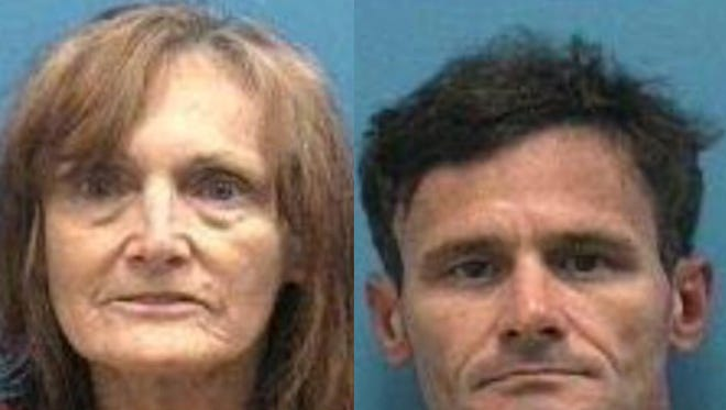 Yvonne Spinato and Travers Legler were arrested on multiple meth-related charges in mid-May, deputies said.