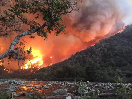 EPA USA CALIFORNIA WILDFIRES DIS FIRE USA