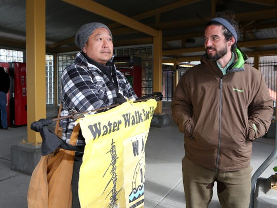 George Cho and Tyler Sheaffer talk about the Water