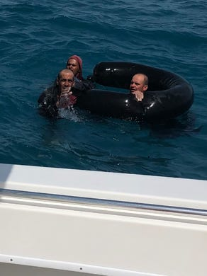 Collier Family Helps Rescue Stranded Cuban Migrants Off