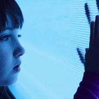 "Madison (Kennedi Clements) is the first to discover the malevolent spirits in her home in ""Poltergeist."""
