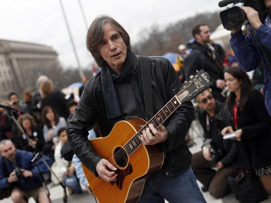 Jackson Browne will perform with Larry Campbell and Teresa Williams next month in Red Bank and Morristown.