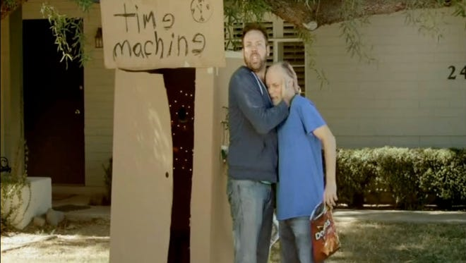 """Ryan Thomas Andersen of Scottsdale won $1 million from Doritos for his """"Time Machine"""" commercial, which aired during the Super Bowl in February 2014."""