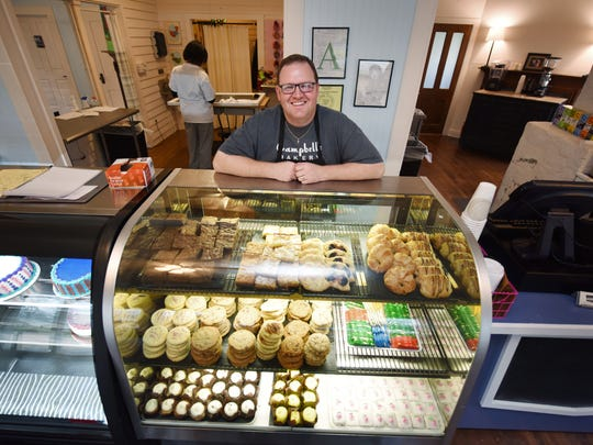Campbell's Bakery owner Mitchell Moore recently opened a location in Madison.