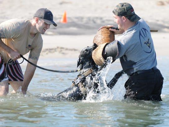 Nick Forsyth, Ocean City Police Department k-9 handler,