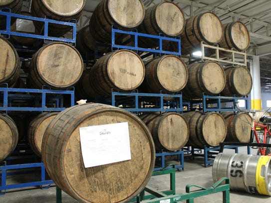 More room for barrels at the brewery means you will