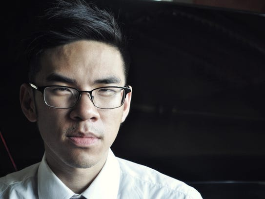 "Pianst Andrew Zhou will present a recital titled ""3×0"""