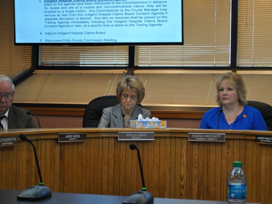 County commissioners discuss business at Tuesday's