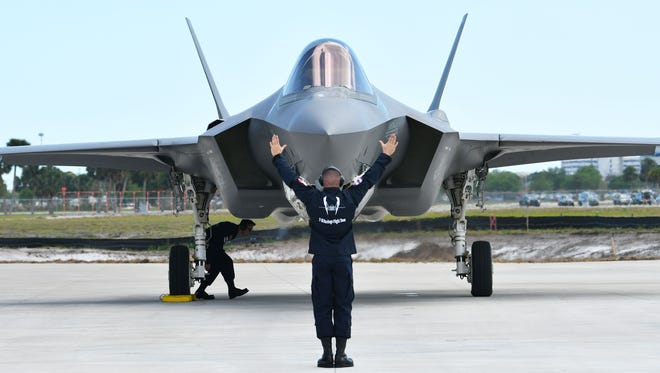 The 187th is one of five Air National Guard units vying for the state-of-the-art, fifth-generation fighter jet known as the F-35 Lighting II that will replace all of today's F-16 and A-10 aircraft by 2030.