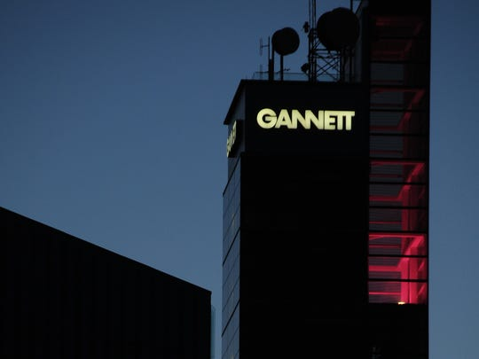 Gannett headquarters in McLean, Va., in suburban Washington.