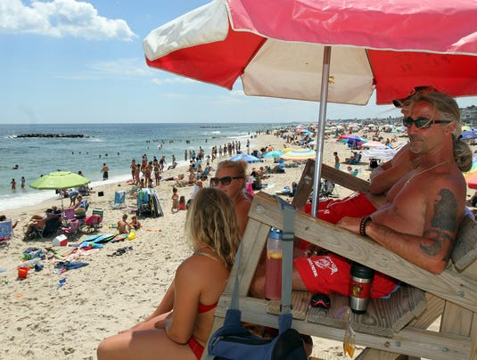 Jersey Shore lifeguard