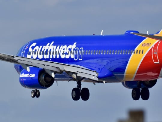 The exact number of delayed and canceled flights isn't clear, though 37 Southwest flights were canceled leaving the airport Tuesday out of 174 scheduled.